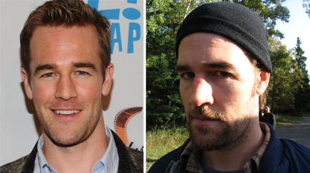 James Van Der Beek Character Makeup