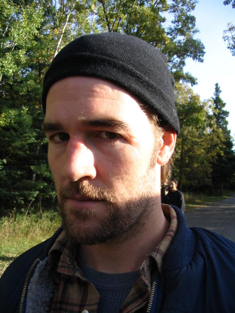 James VanDerBeek Character Makeup