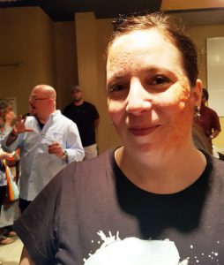 Fanquest 2019 - Radiation Burn Makeup by Doug Morrow