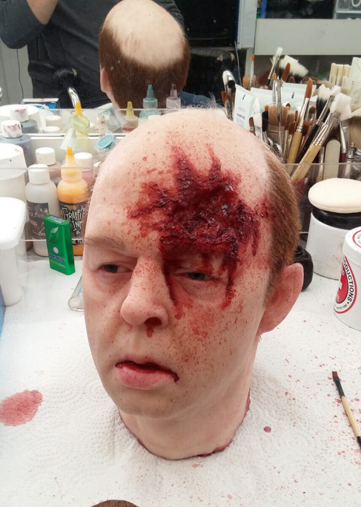 Channel Zero BB Head Wound Brad