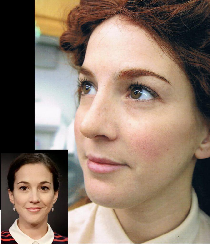 Silicone Nose Aging Martha Pinkerton