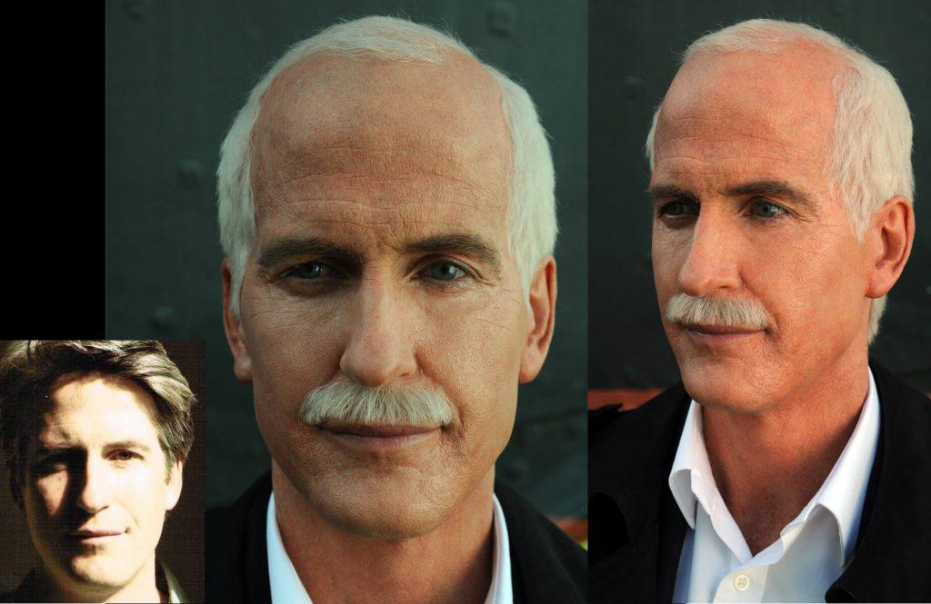 Aging Makeup Jack Layton Rick Roberts